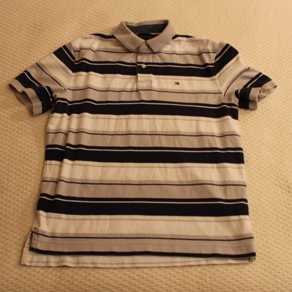 5fa08f6b8a93 Tommy Hilfiger Shirts | Striped Polo | Poshmark